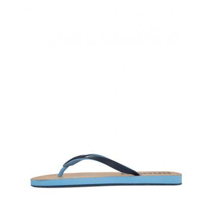Navy/Blue Haston Cork Flip-Flops