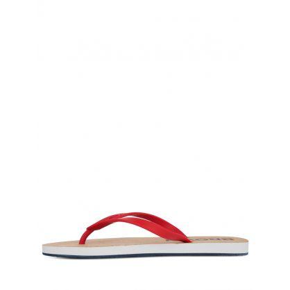 Red Haston Cork Flip-Flops