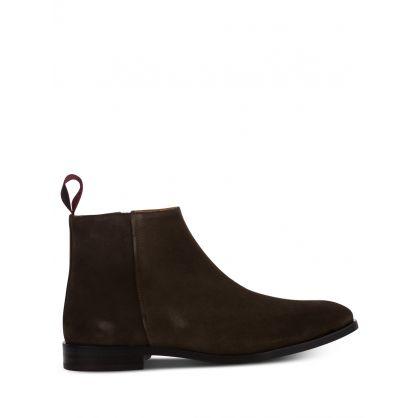 Dark Brown Alan Boots