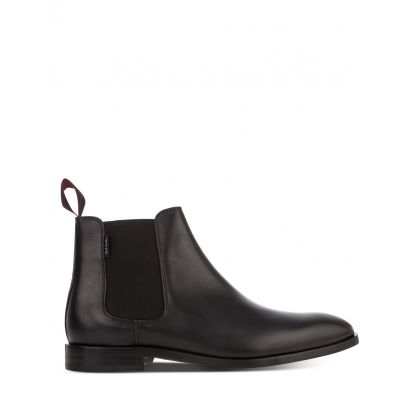 Black Leather Gerald Boots