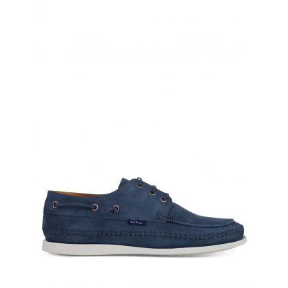 Blue Suede 'Hobbs' Shoes