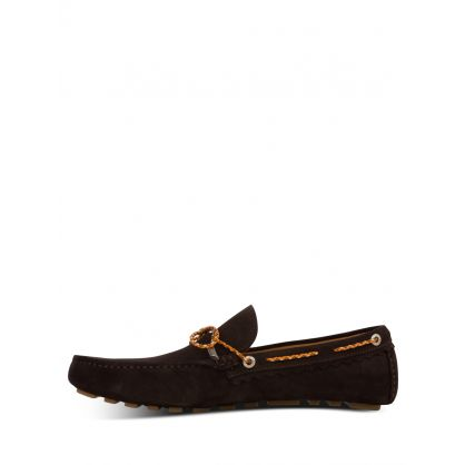 Dark Brown Springfield Driving Shoes
