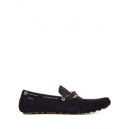 Navy Springfield Driving Shoes