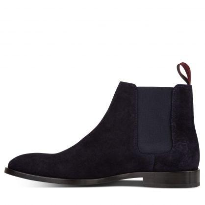 Dark Navy Gerald Chelsea Boots
