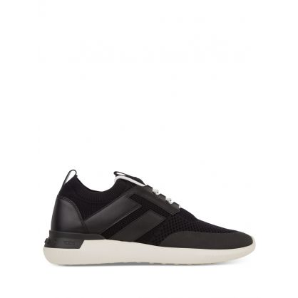 Black No_Code 02 High-Tech Fabric Trainers