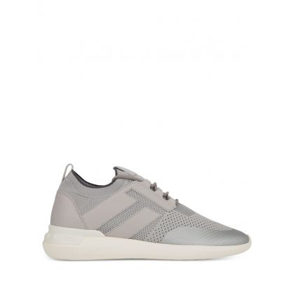 Grey No_Code 02 High-Tech Fabric Trainers
