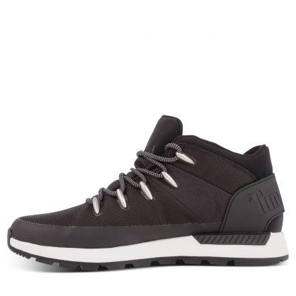 Black Sprint Trekker Mid Hiker Boots