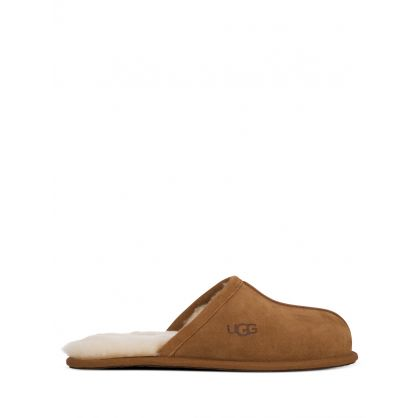 Brown Scuff Slippers