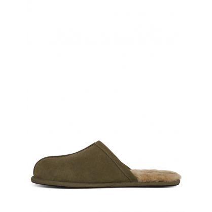 Green Scuff Slippers