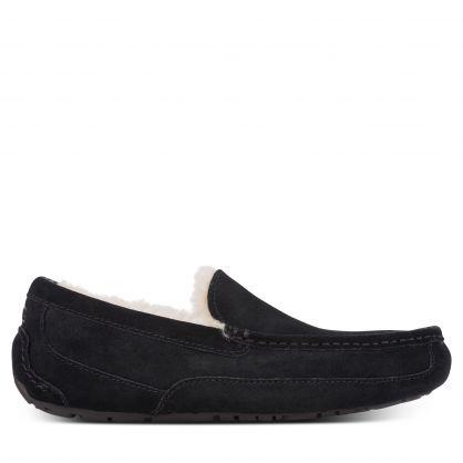 Black Ascot Slippers