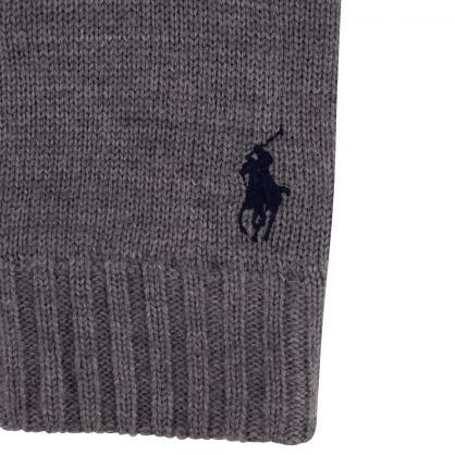 Grey Classic Wool Gloves