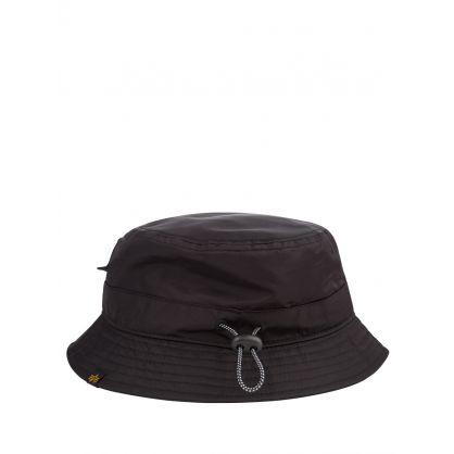 Black Utility Bucket Hat