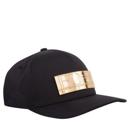 Black Athleisure Rivet-1 Cap