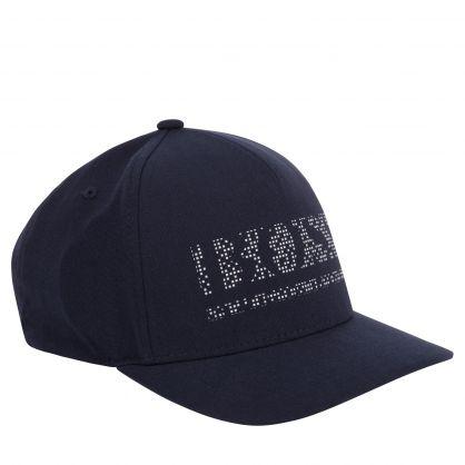 Navy Athleisure Pixel Cap