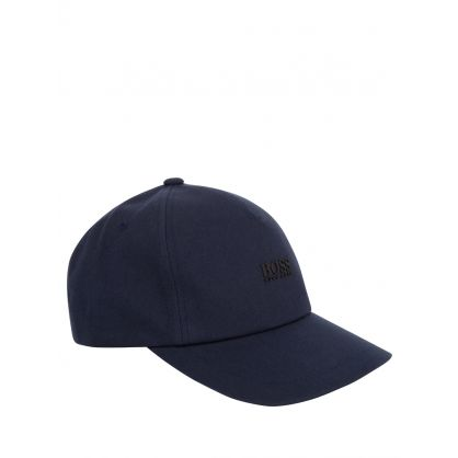 Navy High-Definition Logo Fresco Cap