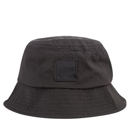 Black Saul Bucket Hat