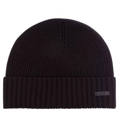 Black Fati-N Beanie Hat