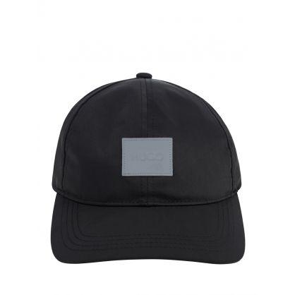 Black X 576 Reflective Logo Cap