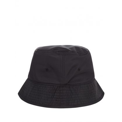 Black Men-X 555-1 Reverse Logo Bucket Hat