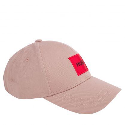 Pink Men-X 576 Red Logo Label Cap