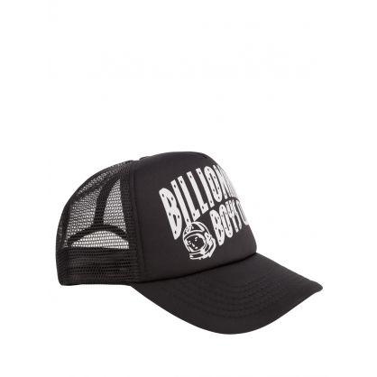 Black Arch Logo Trucker Cap