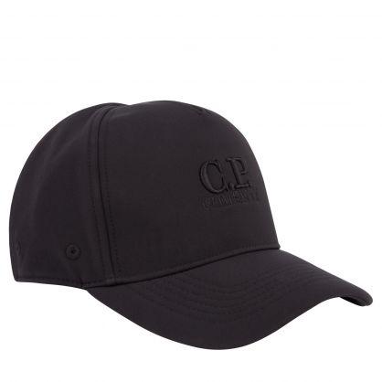 Black Shell-R Logo Cap