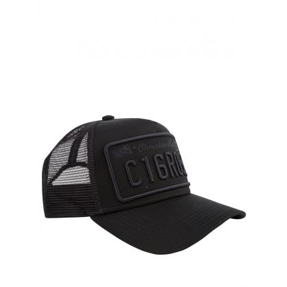 Black/Black Private Plate Cap