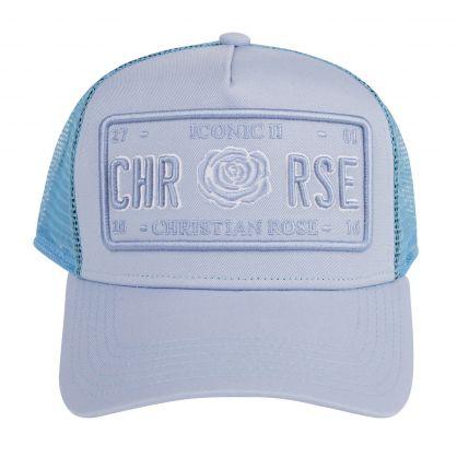 Blue Iconic II Vinyl Plate Cap