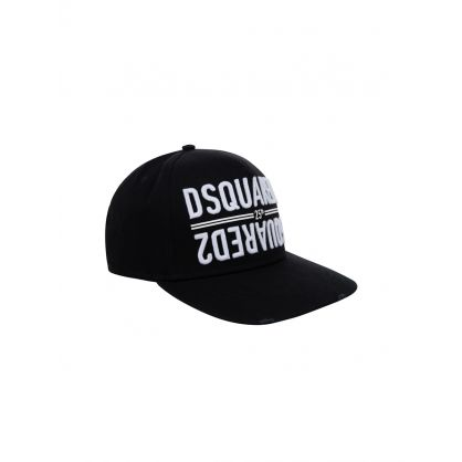 Black 25th Anniversary Mirrored Logo Cap