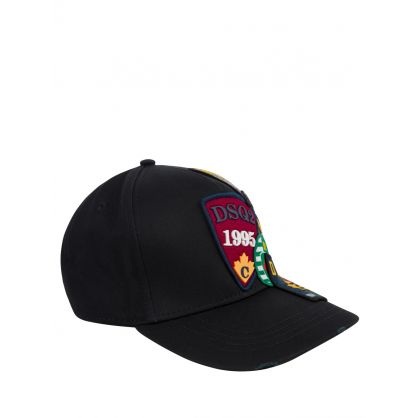 Black Patch Logo Cap
