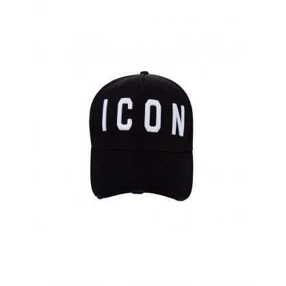 Black ICON Logo Baseball Cap