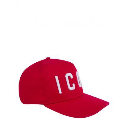 Red ICON Logo Cap