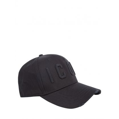 Black Tonal ICON Logo Cap