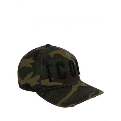 Green Camo-Print ICON Cap