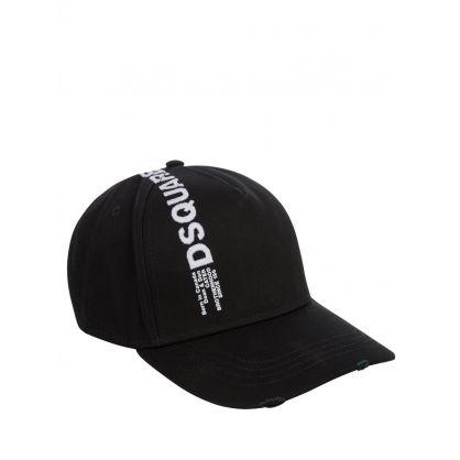 Black Line Logo Cap