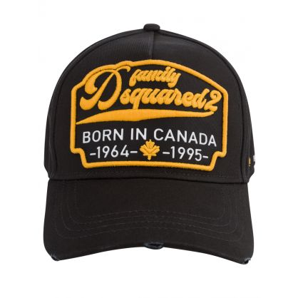 Black Born In Canada Cap