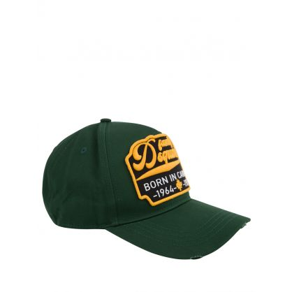 Green Born In Canada Cap