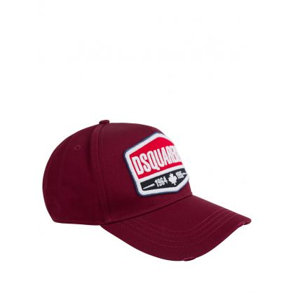 Burgundy 1964 Patch Cap