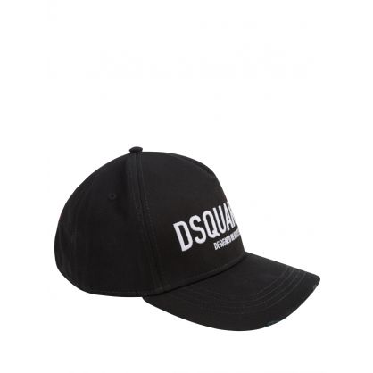 Black Dean & Dan Caten Red Tag Cap
