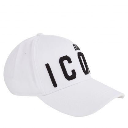 White Classic ICON Cap