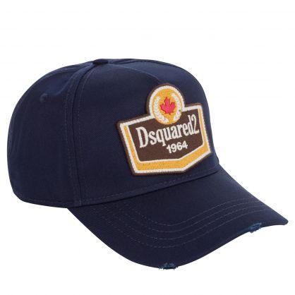 Navy 1964 Brotherhood Patch Logo Cap