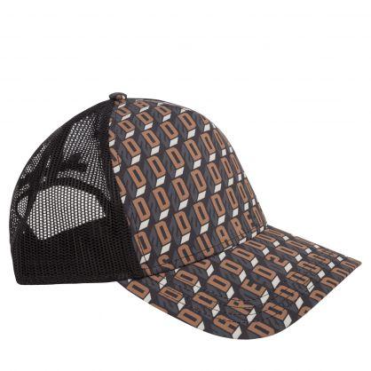 Black/Brown D2 Monogram Cap