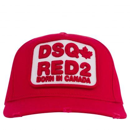 Red DSQ-Red2 Cap