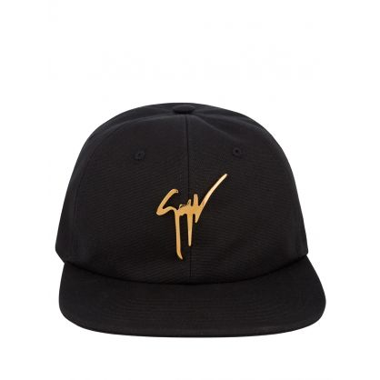 Black Signature Kana Cap