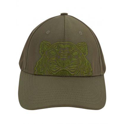 Green Classic Tiger Cap