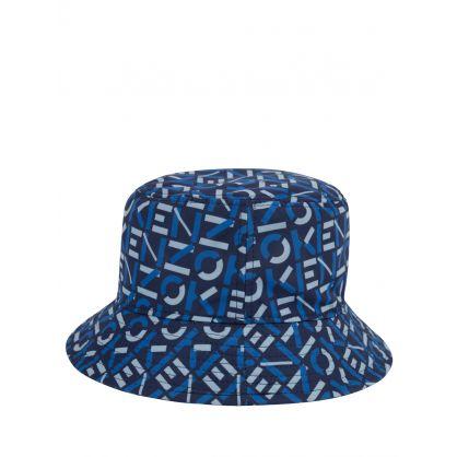 Navy Logo Bucket Hat