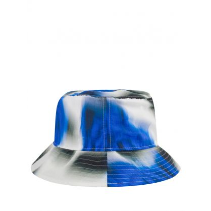 Blue 'Roses' Bucket Hat