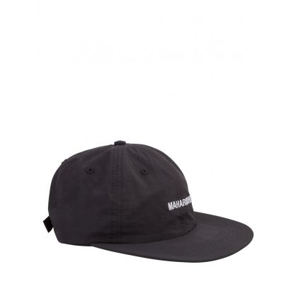 Black Recycled Japanese Nylon Cap