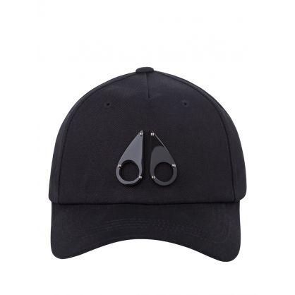 Black Icon Logo Space Age Cap