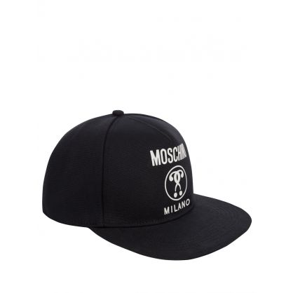 Black Milano Logo Hat